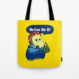 Vegan do It Avocado Tote Bag
