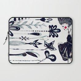 Diamonds and Flowers_01 Laptop Sleeve