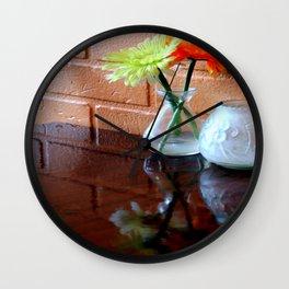 Halfbricking Wall Clock