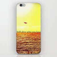 bon iver iPhone & iPod Skins featuring PERTH- BON IVER by Michelle Pitiris