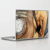 truck Laptop & iPad Skins featuring Old Truck by Kirsten Neil