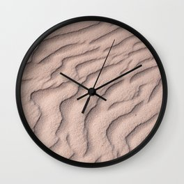 Sandy beach in Mexico | Tropical pattern Wall Clock