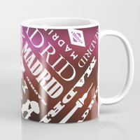 madrid Mugs featuring Madrid by Rafael CA