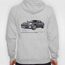 Aston Martin Vanquish V12 from Die Another Day Hoody