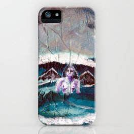 Lady Lazarus of the Sea iPhone Case