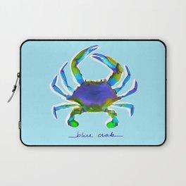 Blue Crab - Aqua Laptop Sleeve