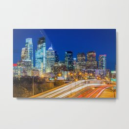 Downtown Philly Metal Print