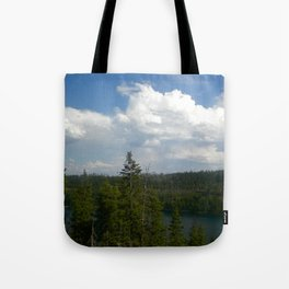 Tranquil Lake Tote Bag