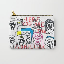 Here you are the gorillas Carry-All Pouch