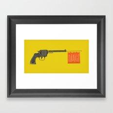 Dang is the new Bang Framed Art Print