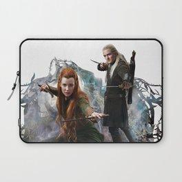 Fighting Elves of Mirkwood Laptop Sleeve