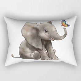 Baby Boo Butterfly Rectangular Pillow