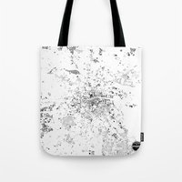 dublin Tote Bags featuring DUBLIN by Maps Factory