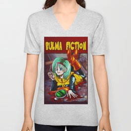Bulma Fiction Unisex V-Neck