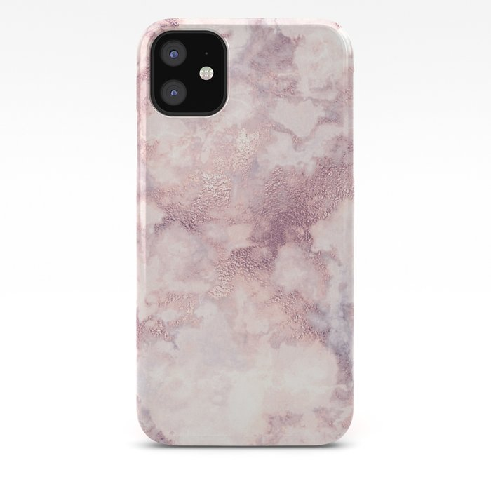 Elegant Rose Faux Gold Pink Gray Luxury Marble Pattern Iphone Case By Pink Water Society6