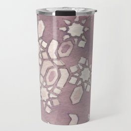 Cellular Geometry Travel Mug