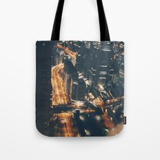 Streamed Tote Bag
