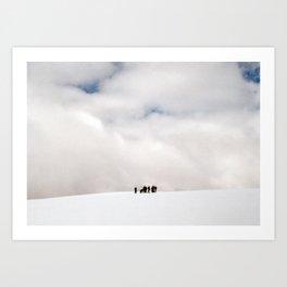 Absaroka Range, Wyoming Art Print