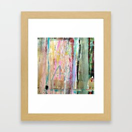 Colorful Bohemian Abstract 1 Framed Art Print