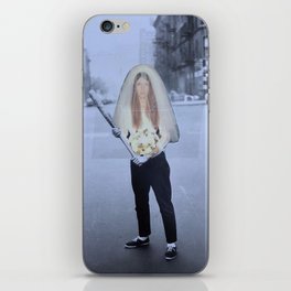 Here Comes the Bride iPhone Skin