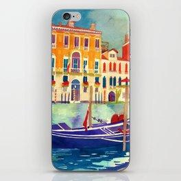 sunshine in Venezia iPhone Skin