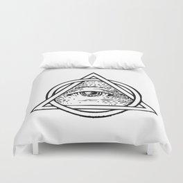 Illuminati Triangle Duvet Cover