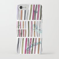 swimming iPhone & iPod Cases featuring Swimming by Lidia Ganhito