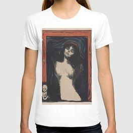 MADONNA - EDVARD MUNCH T-shirt