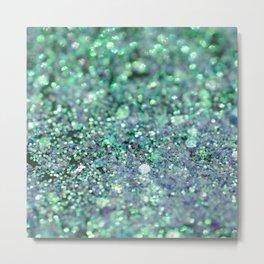 Underwater Mermaid Glitter #1 #shiny #decor #art #society6 Metal Print