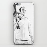 grand theft auto iPhone & iPod Skins featuring Grand Theft Auto 5 by Chris Samba