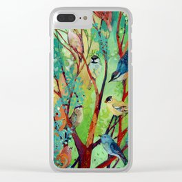 we are here for you Clear iPhone Case