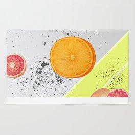 Orange and Grapefruit Rug