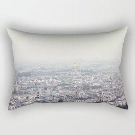 Paris top view Rectangular Pillow