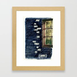 Poetry Month No. 3 Framed Art Print