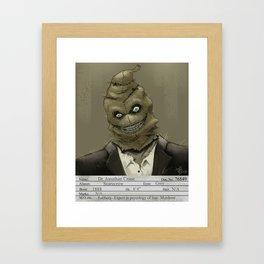 1930s Scarecrow Mugshot Framed Art Print