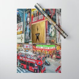 Times Square II Wrapping Paper
