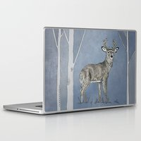 stag Laptop & iPad Skins featuring Stag  by Leanna Rosengren
