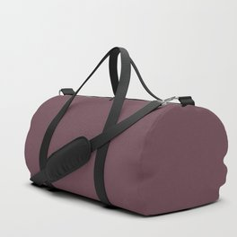 Dunn and Edwards 2019 Curated Colors Wine Stain (Dark Grape Purple) DEA145 Solid Color Duffle Bag