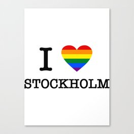 I PRIDE STOCKHoLM Canvas Print