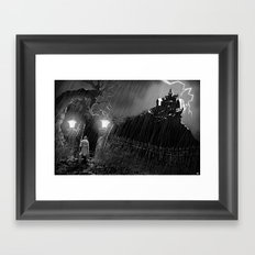 Out of the Storm Framed Art Print