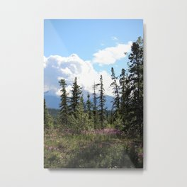 For Spacious Skies :: Purple Mountains Majesty Metal Print