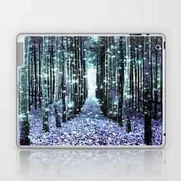 Magical Forest Lavender Aqua/Teal Laptop & iPad Skin