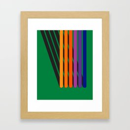 Pole Position Framed Art Print