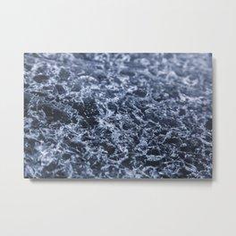 Glacial Ice Metal Print
