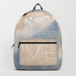 Kissing Dove Birds - Valentine's Day Theme Backpack