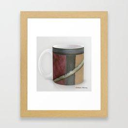 Artist Brush Coffee Mug Modern Art Print Framed Art Print