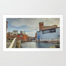 Birmingham Mainline Canal Art Print
