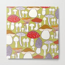 All my mushrooms Metal Print