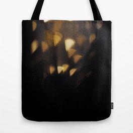 Glitter Rain  Tote Bag