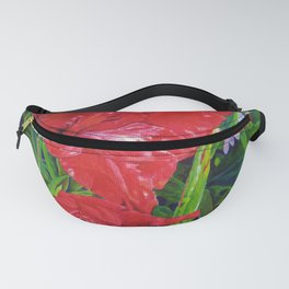 Gladiola's and Echinacea Fanny Pack